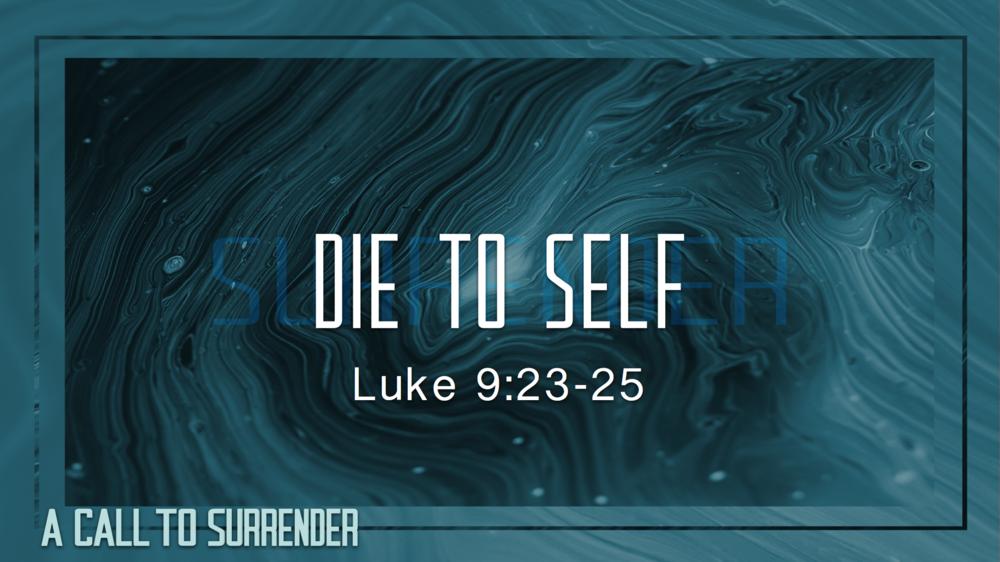 2. Die to Self - Justin Marbury | November 2nd, 2017