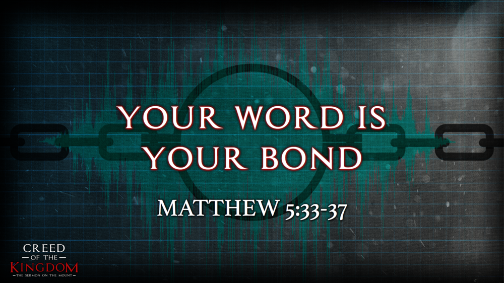 8. Your Word is Your Bond - Justin Marbury | July 24th, 2017