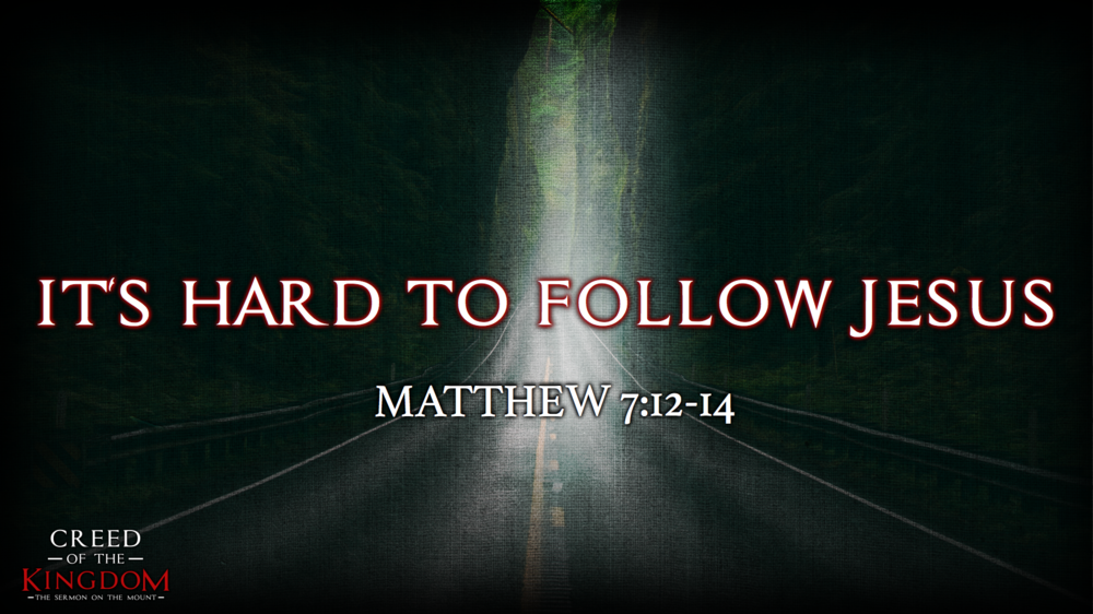 14. It's Hard to Follow Jesus - Justin Marbury | September 10th, 2017