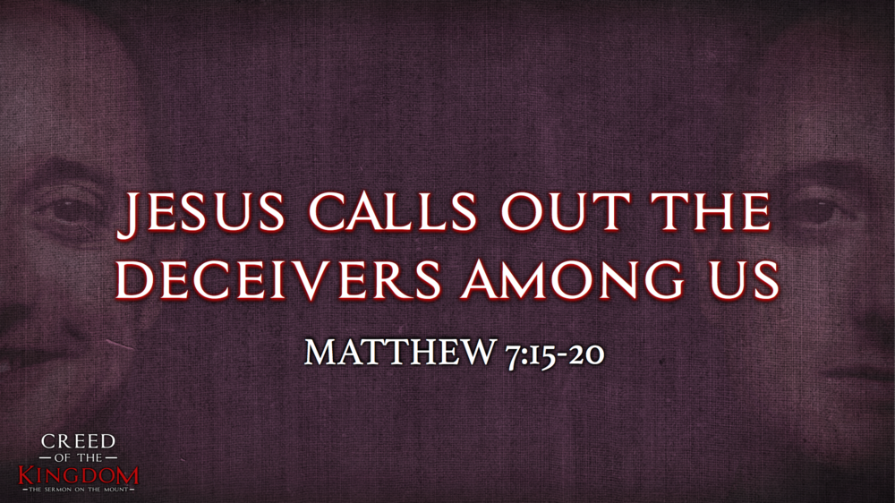 15. Jesus Calls Out the Deceivers Among Us - Justin Marbury | September 17th, 2017