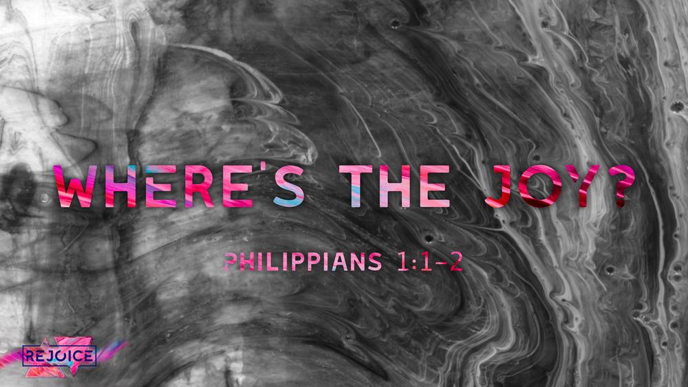 1. Where's the Joy? - Justin Marbury | February 11th, 2018