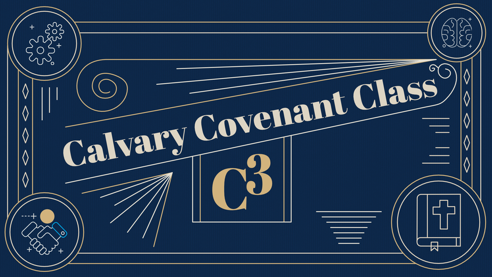 C3 - As we look to the New Year and all that God has for us in 2019, membership is an important reality. At the center of what it means to be a participating member of this church is the Calvary Covenant, an affirmation of shared commitments to being disciples of Jesus Christ. Register to find out more.