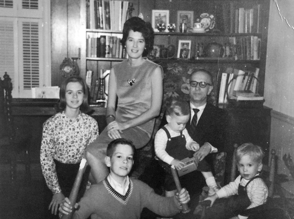 My family in 1963