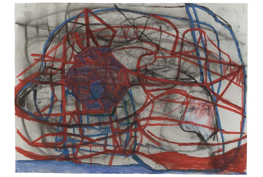Terry Winters: The Structure of Things    Museum of Fine Arts, Boston   September 3, 2016 - June 18, 2017