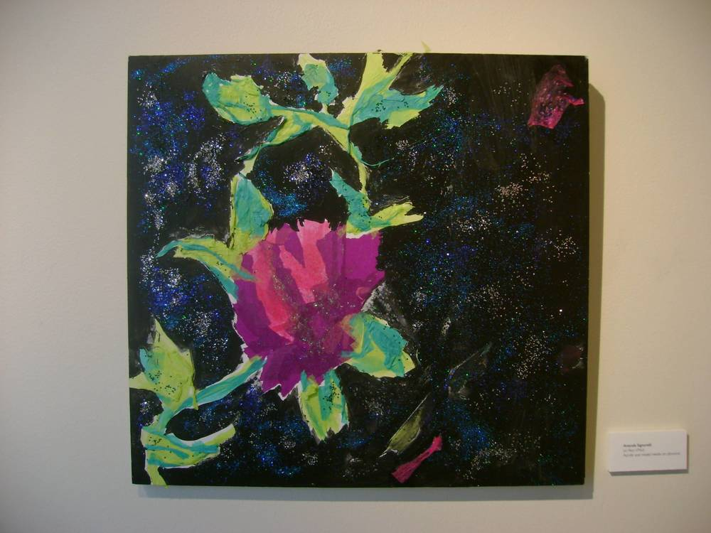 """Le Fleur d'Nuit"" by Amanda Signorelli, exhibited in 2009 Adelphi University Masters Student Exhibition"