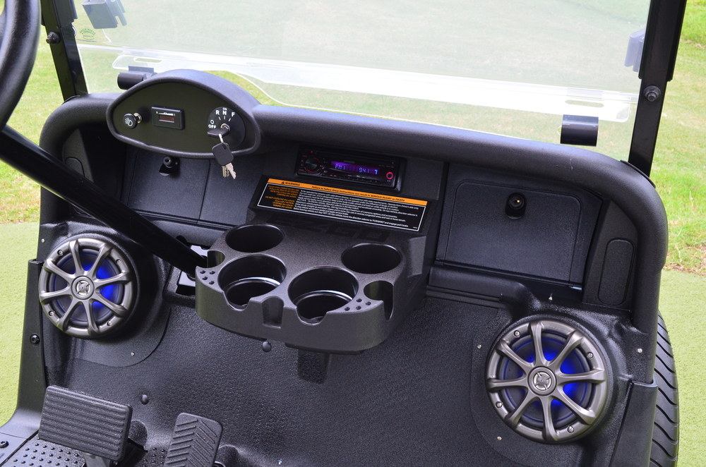 Golf Cart Audio System Installation