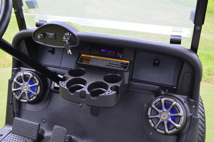 Golf Cart Stereo Installation on yamaha golf cart dash kits