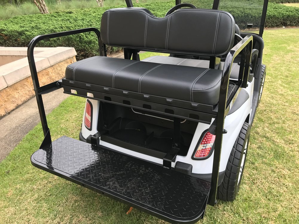 Custom Golf Carts with Style