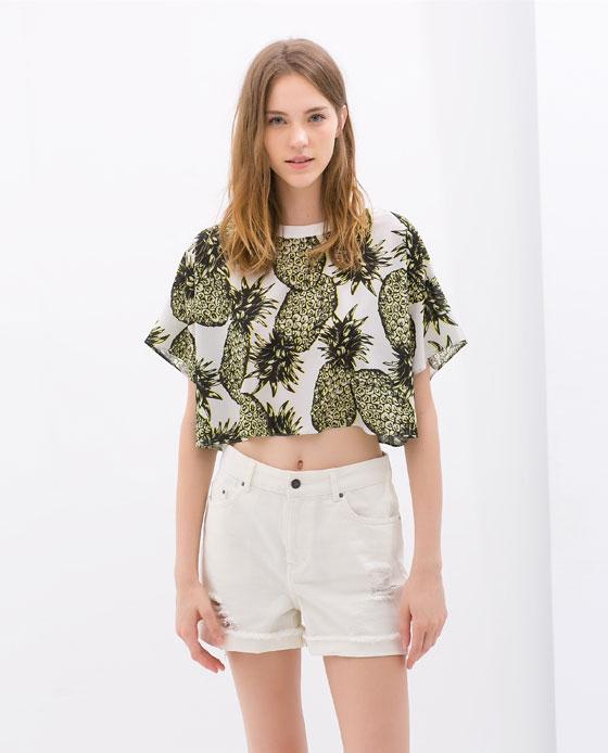 Zara Crop Top $39.90