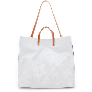 Clare V. Simple Tote in White- to die for! $429