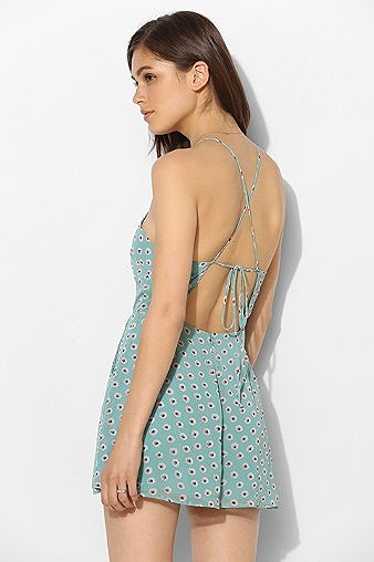 Lucca Couture Square Neck Romper, $69. Take the attention off your booty and put it on your back! This playful romper hides flaws below the waist while highlighting beauty above it! Great print too!