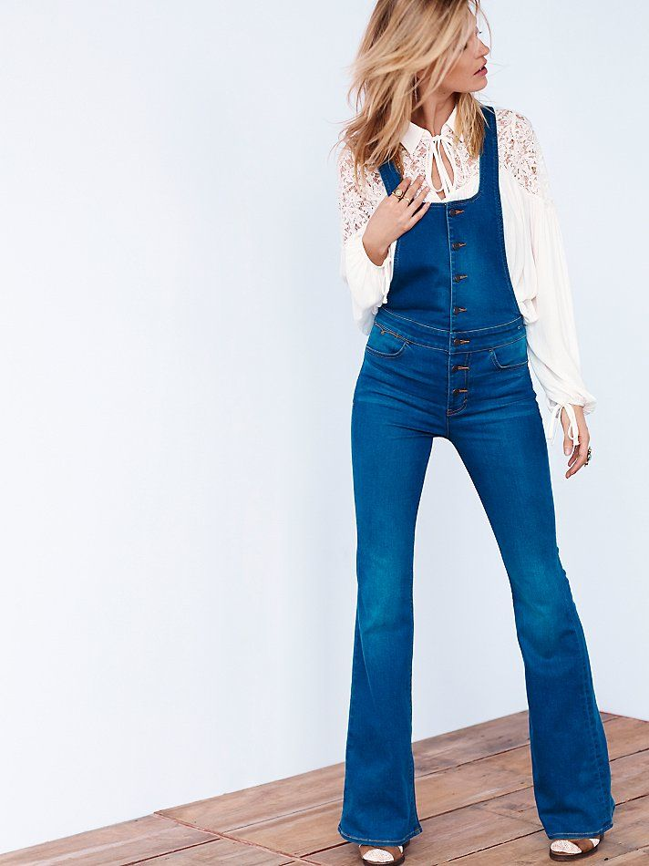 Free People Delilah Retro Overall
