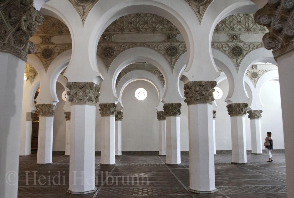 Santa María la Blanca, Toledo, Spain
