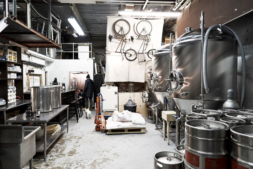 Folksbier Brewery, Brooklyn, NY. Photo by Matt Coats