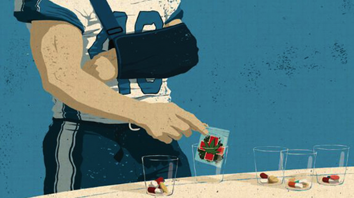 painkillers marijuana NFL players injuries cannabis medical