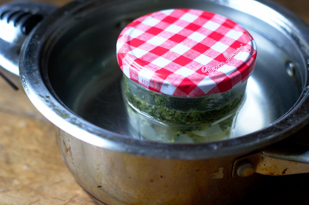 Mason Jar method pot butter THC marijuana cannabis