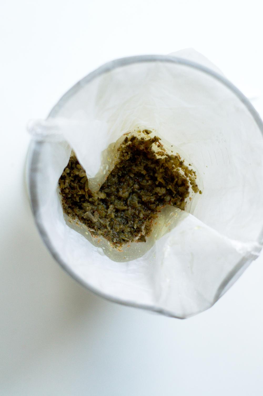 Coffee grounds THC resin pot butter Edibles filter