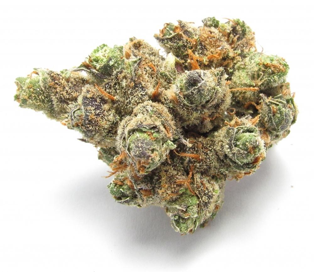 Purple Cadillac Indica strain review marijuana THC