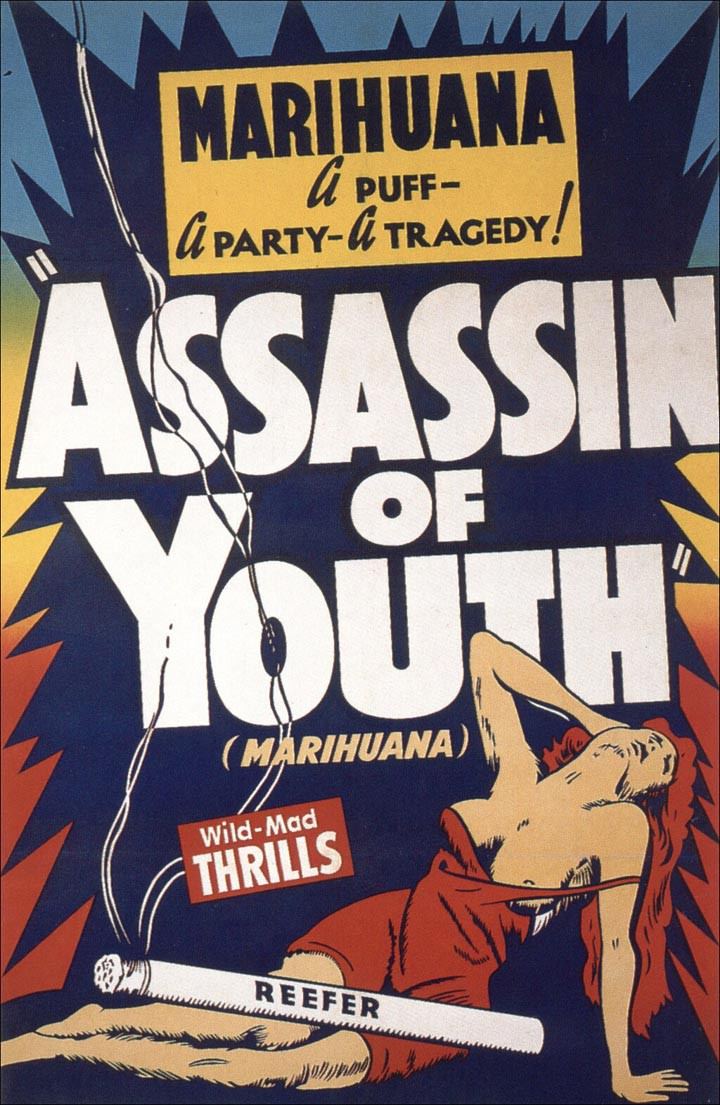What happened in response to marijuana being made illegal in 1937?