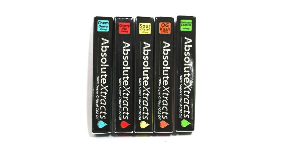 Absolute Xtracts cartridges wax vaporizer vape pen