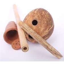 Steam Chalice calabash coconut gourd Jamaica bowl bamboo kutchie