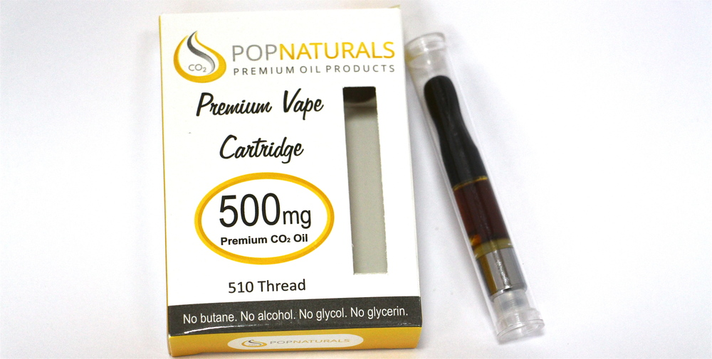 POP Naturals cartridge wax pen 500mg