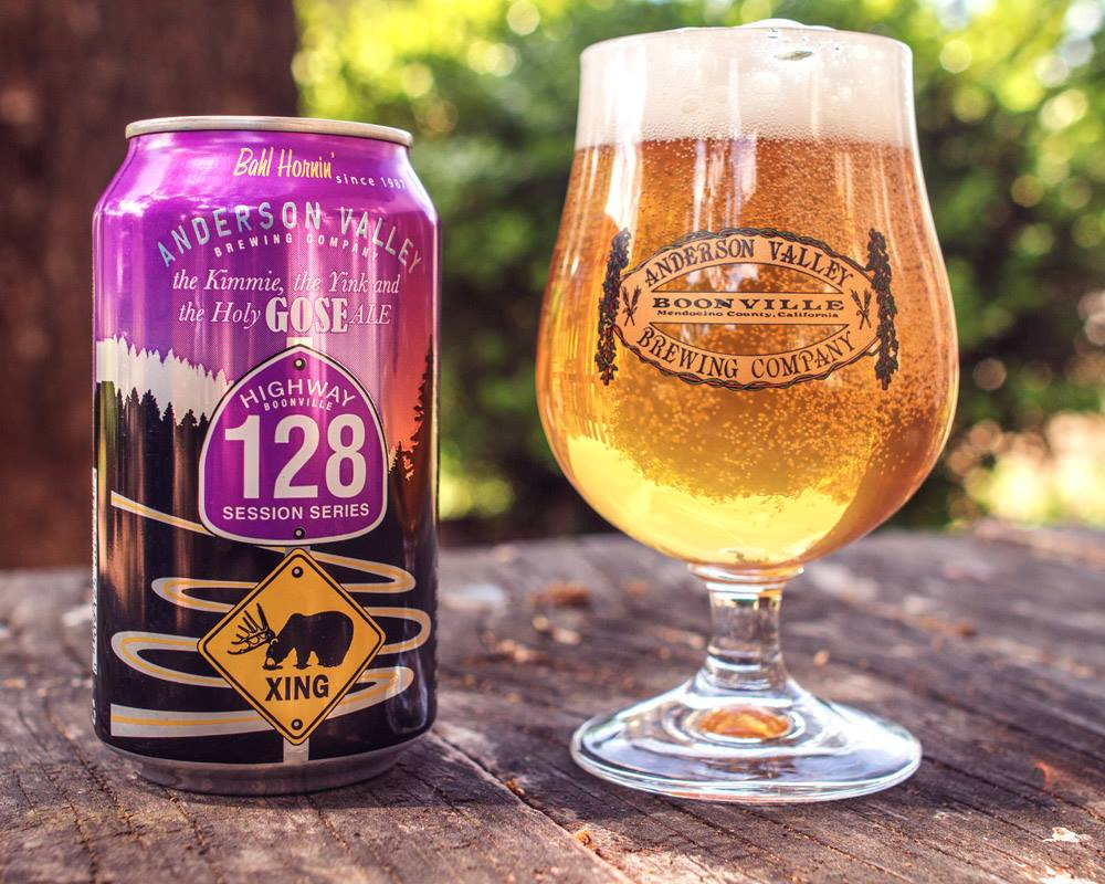 beer weed Anderson Valley Holy Gose Ale pairing