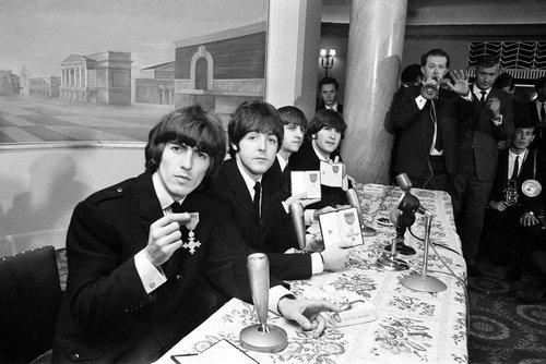 The Beatles Bob Dylan John Lennon