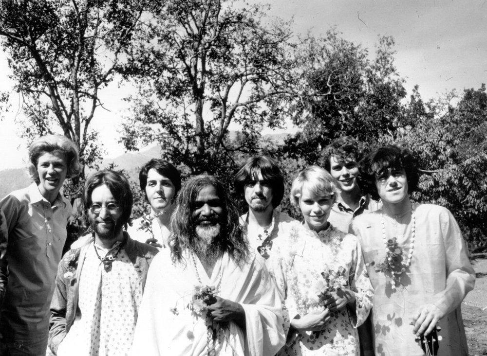 Meditation The Beatles George Harrison India hash