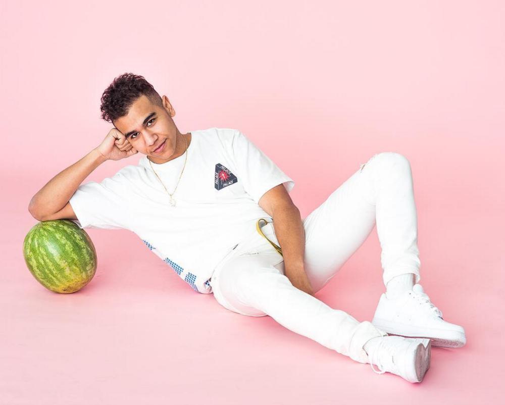 ramriddlz watermelon pink background