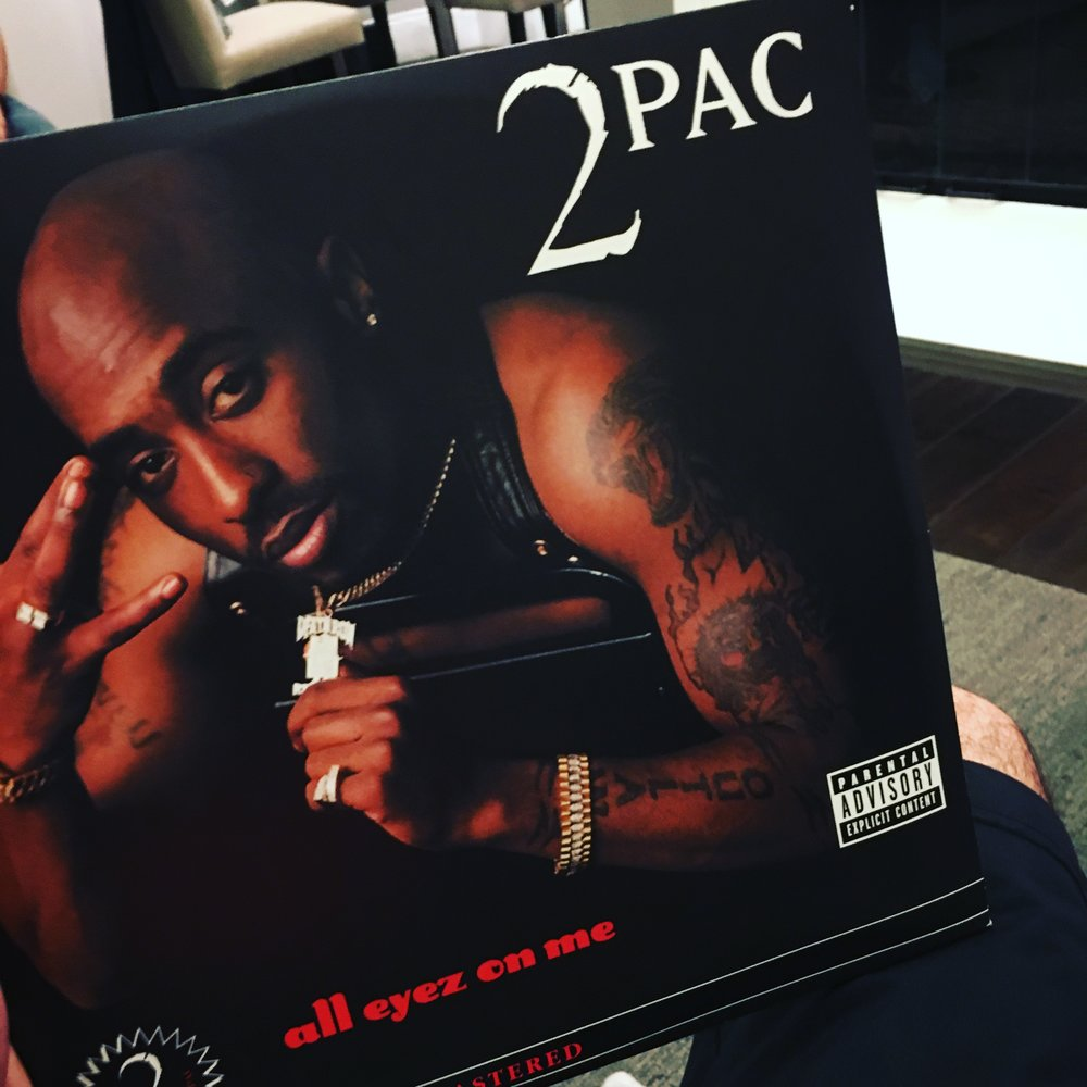 2pac Tupac All Eyez On Me Album Cover Today On Vinyl