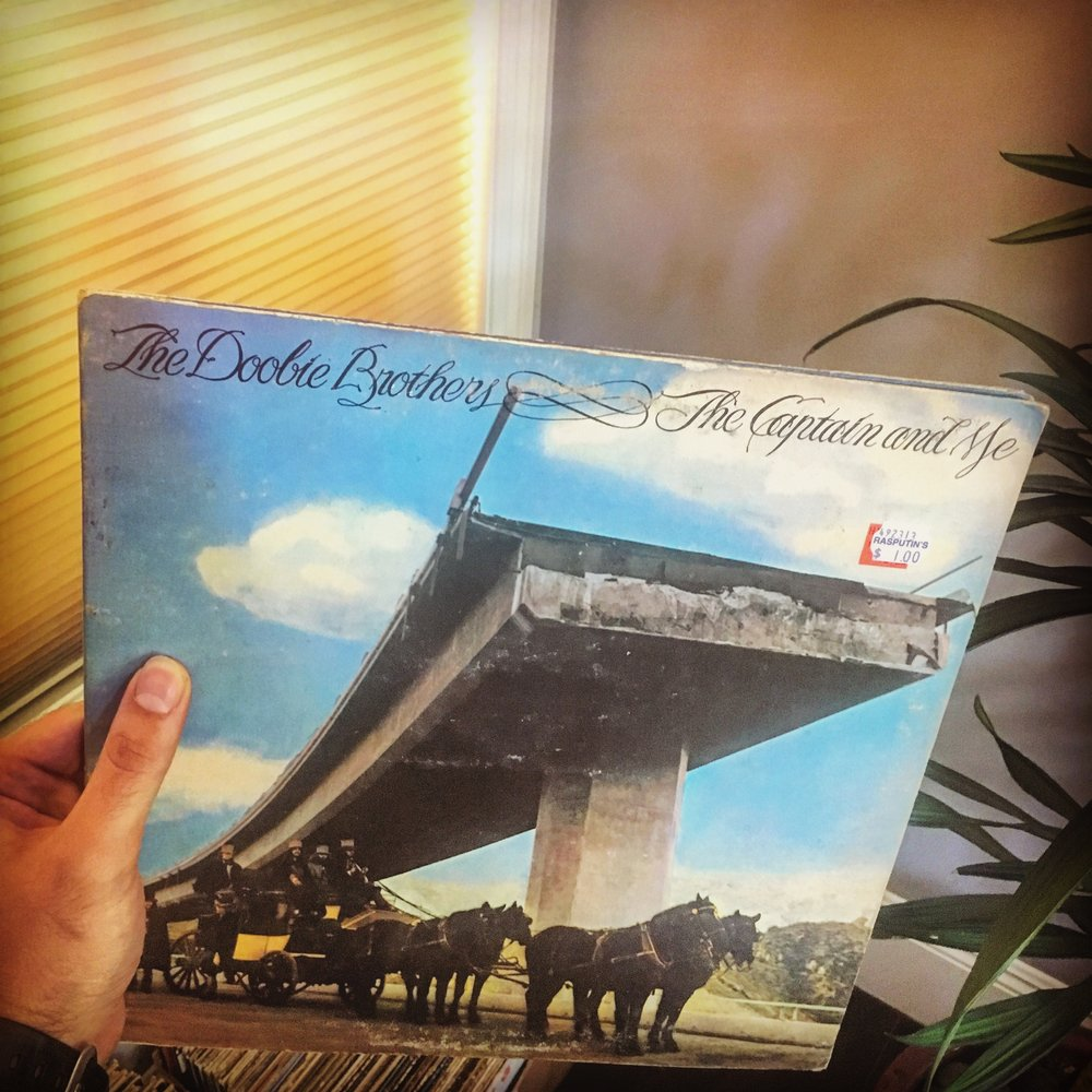 doobie brothers the captain and me today on vinyl