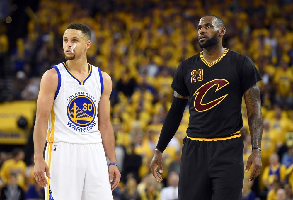 Warriors Cavaliers Cleveland Golden State 2017 NBA Finals