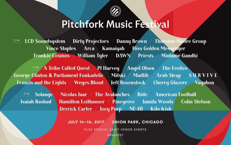Pitchfork Music Festival -          Normal 0     false false false  EN-US JA X-NONE                                                                                                                                                                                                /* Style Definitions */ table.MsoNormalTable {mso-style-name: