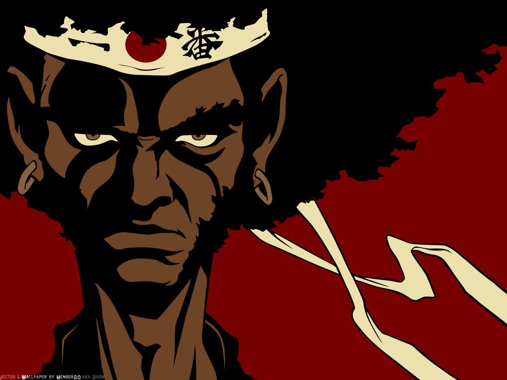 Afro Samurai Hip Hop Anime