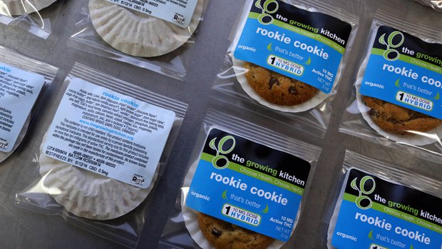 THC content package edible testing