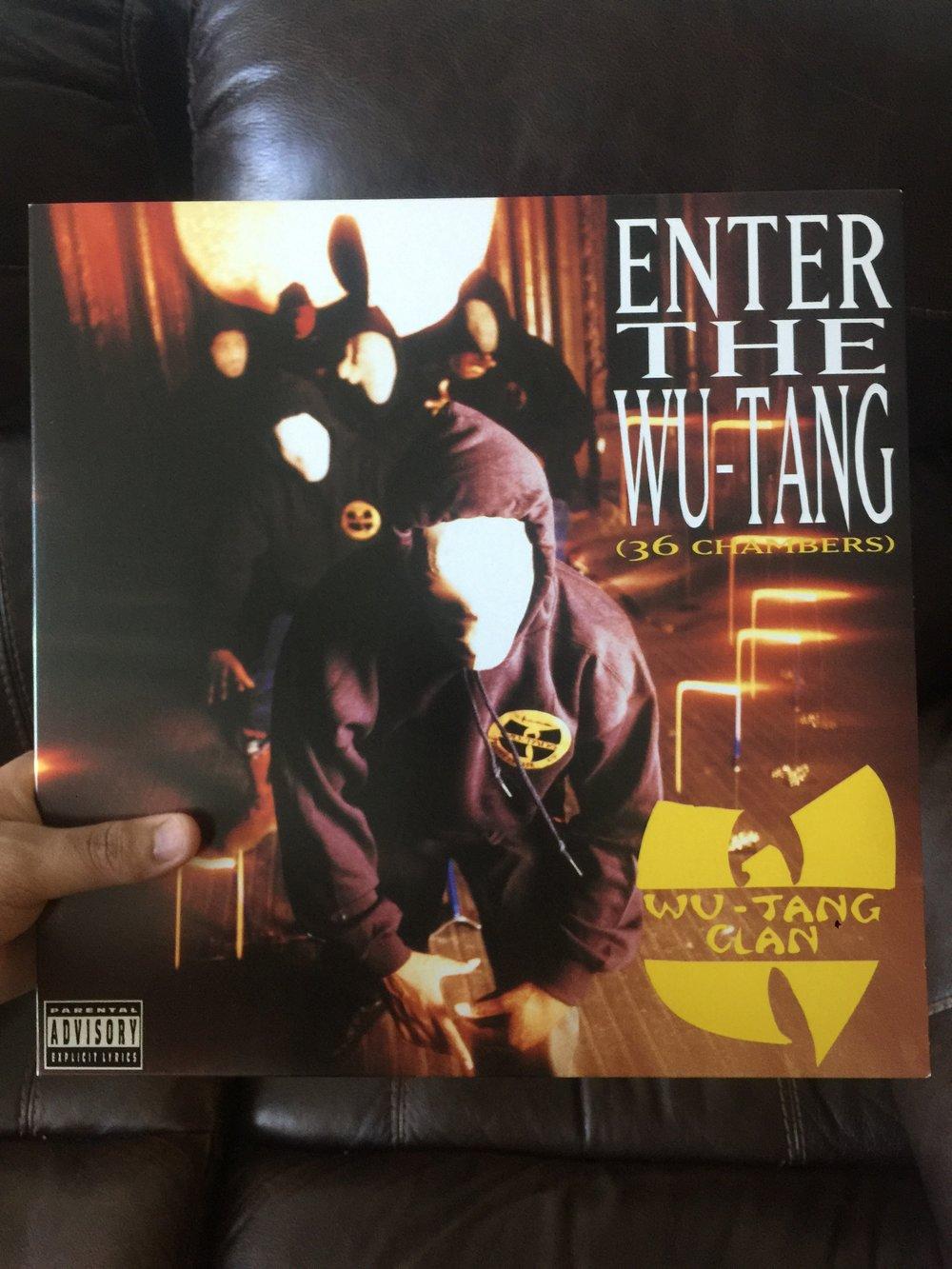 Wu-Tang Clan Enter the Wu-tang 36 chambers