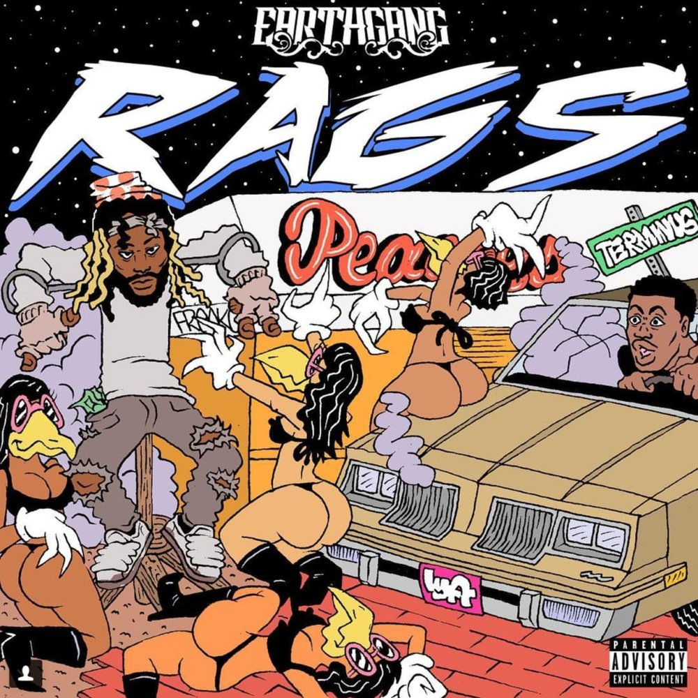 rags album cover art earthgang