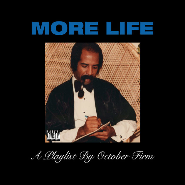 More Life Drake Album Cover