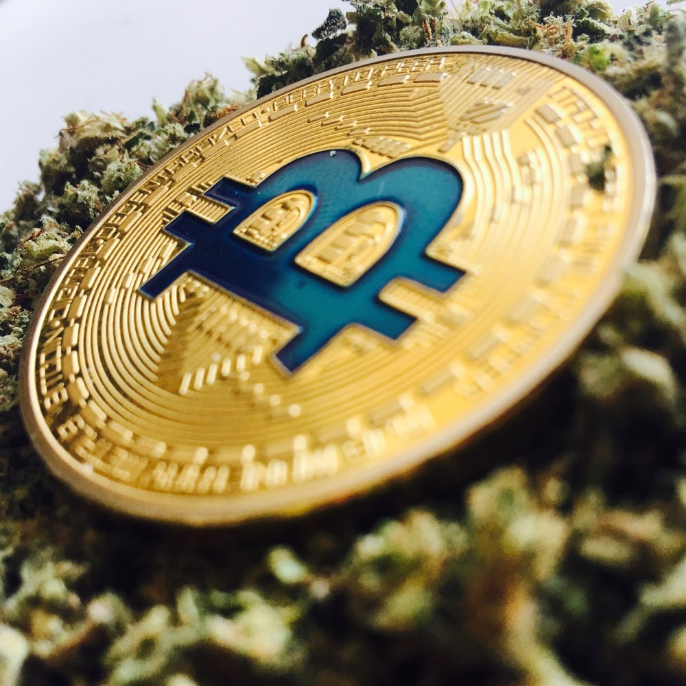 Cannabis Cryptocurrency Bitcoin Ethereum