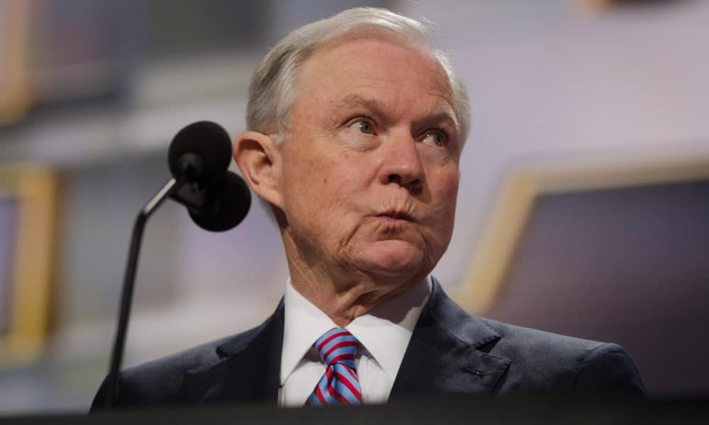 Jeff Sessions STATES Act Legal cannabis