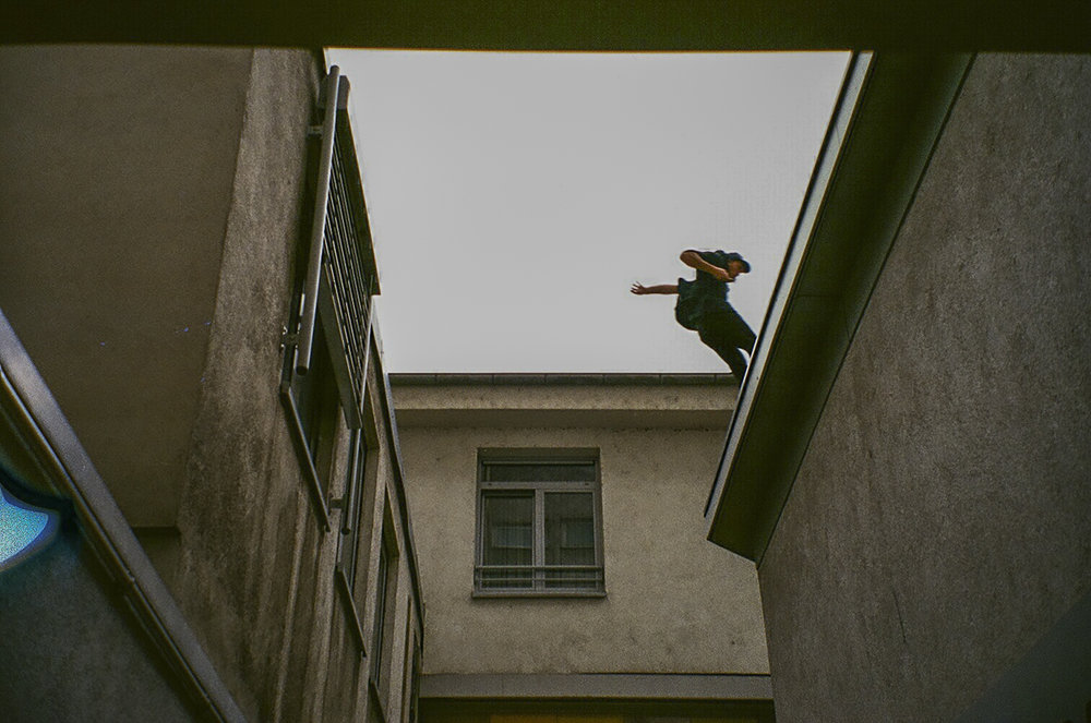 Frankfurt, Germany 2016 - Jason Paul roof gap