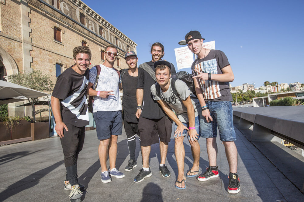 We bumped into other Freerunners on their own Europe tour.