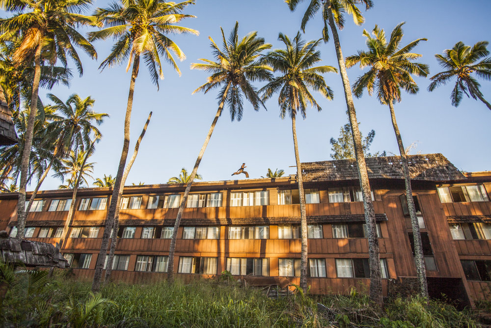 February 2016 - Kauai, Hawaii - Coconut Palms Abandon Hotel. Click to read blog post.