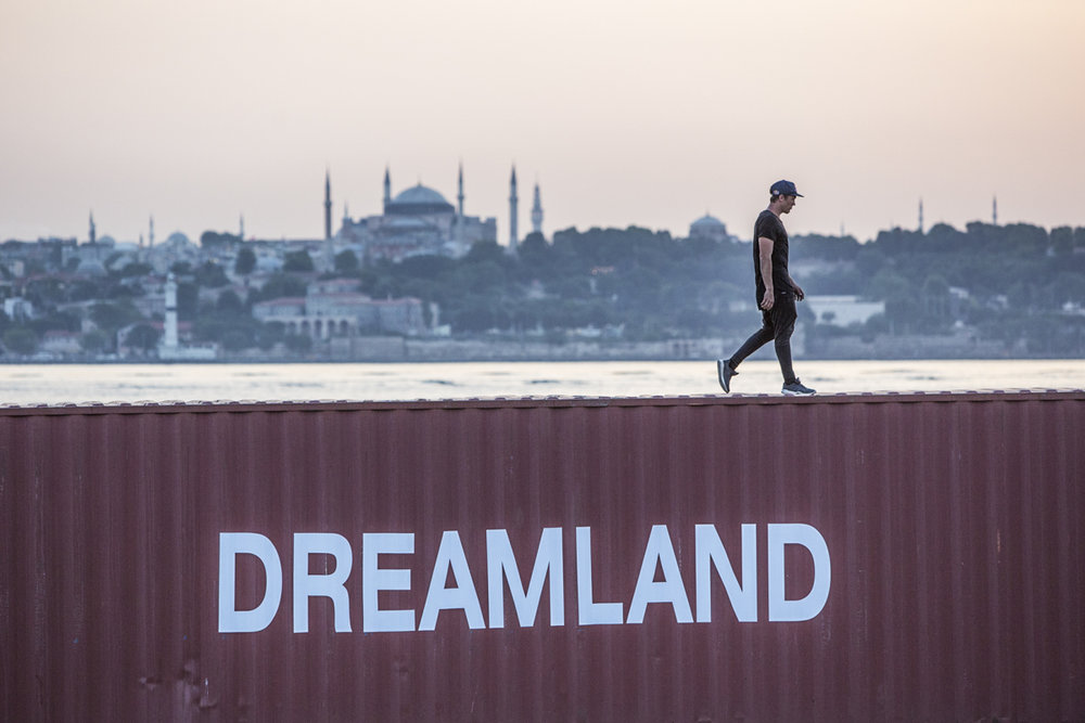 June 2016 - Istanbul, Turkey - Click to see  Dreamland  or  Jason's Vlog .