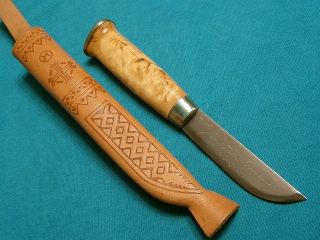 This is a J. Martinelli which is a popular fillet knifemaker