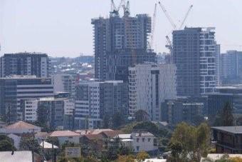 Brisbane Skyline (ABC News: Isobel Roe)