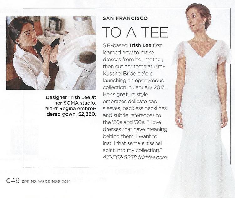 C MAGAZINE Embraces Trish Lee Vintage Wedding Dress Style   Trish Lee