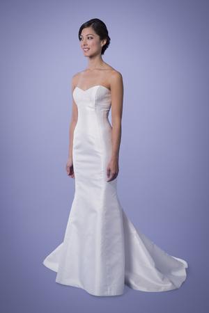 Trish Lee Angelina Sweetheart Silk Trumpet Wedding Dress
