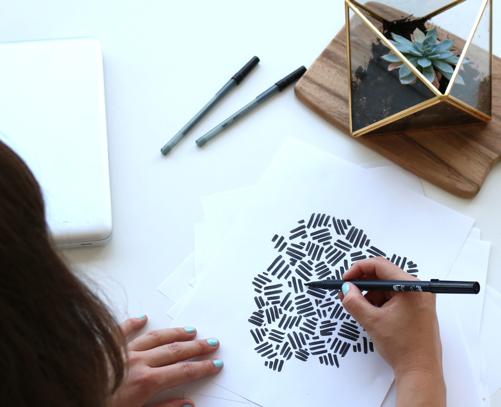 Loft Studios Emma Sketching